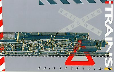 1993 Trains Block Of 6 Stamp Pack, Unopened, Mint Condition