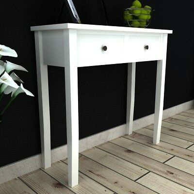 # Dressing Console Hall Side Table Bedside 2 Drawer French Furniture Provincial