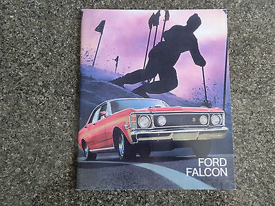 Ford 1969 Xw Falcon Range Sales Brochure. Incl Gs,gt Etc.  100% Guarantee