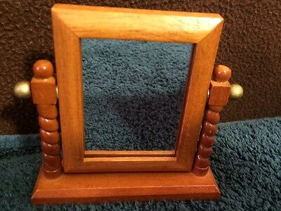 American Girl Angelina Ballerina Mirror with wooden frame