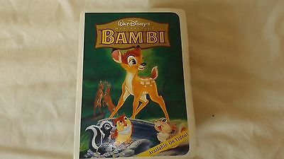 1996 McDonalds Happy Meal Disney Masterpiece Collection Bambi  CL27-44