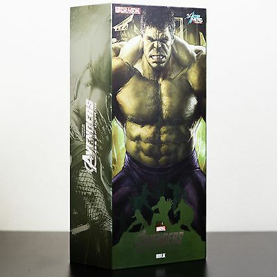 Avengers Age of Ultron Hulk Action Hero Vignette 1:9 Scale Pre-Assembled Statue