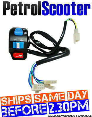 Indicator Switch Fits Baotian Speedy BT49QT9 Pulse Scout Jmstar Many Others
