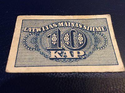 LATVIA 1920 Very  Rare Collectable Banknote