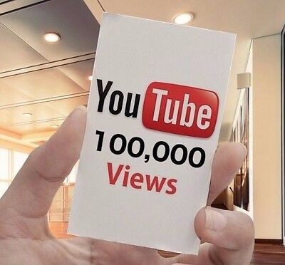 YouTube Voucher - 100,000 View (Fast Delivery)
