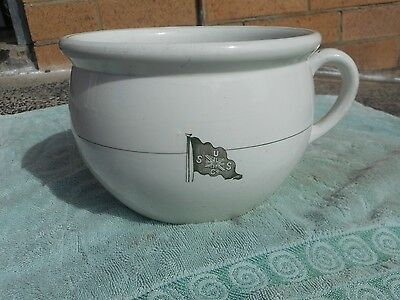 Vintage  Very Rare Late 1800S  Early 1900S Union Steam Ship Co Nz .potty