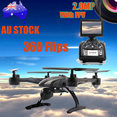 New JXD JD509G RC Drone FPV Quadcopter w/ HD Camera 5.8G Altitude Hold AU NSW