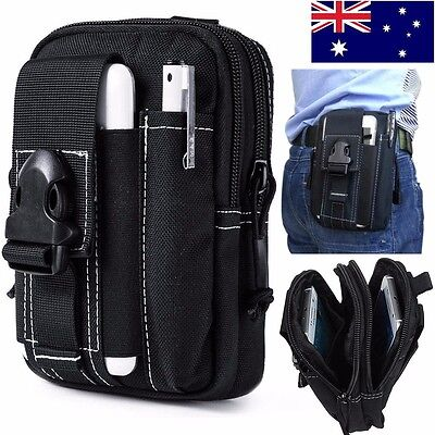 Mens Tactical Waist Pack Belt Bag Fanny Phone Pouch Pocket Wallet Hiking Outdoor