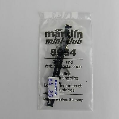 Z Scale Marklin 8954 Isolating(10) & Joint Clips(20) Set - Manufacturer - New