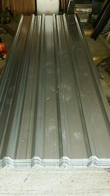 Brand new 32/1000 galvanised box profile roofing sheets 12ft