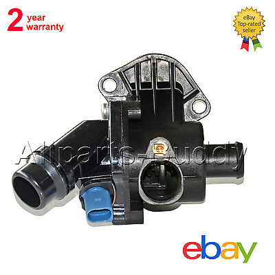 Thermostat + Housing + Temp.Switch Kit for Audi A4 B6 1.8T 2.0 01-04 WITH SENSOR