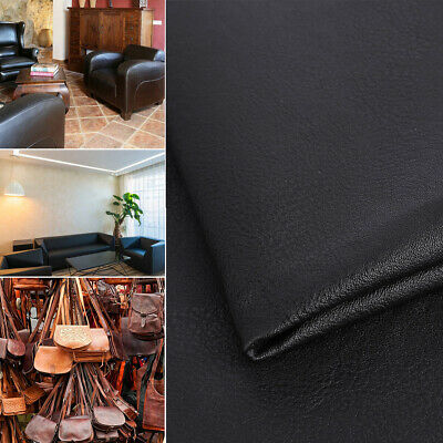"1M/2M Faux Leather PU Stretch fabric Soft Synthetic upholstery DIY Home 54"" wide"