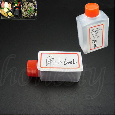 5~100X Mini Rectangle Shaped Soy Sauce Plastic Container Multipurpose Bottles