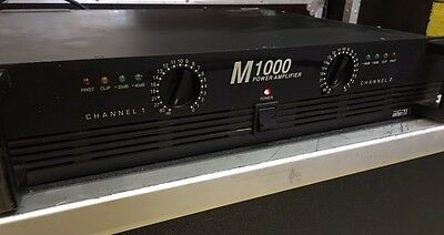 INTER-M M1000 AMPLICATEUR 2x500W
