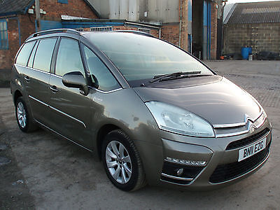 2011 (11) Citroen Grand C4 Picasso 1.6HDi  VTR+ DAMAGED SALVAGE DIESEL