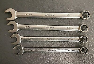 Snap On Spanners. Flank Drive OEXM Spanners. 20-24mm. (Including VAT).