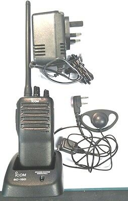 Icom IC-f15 Walkie talkie two way radios. VHF for farm and country use