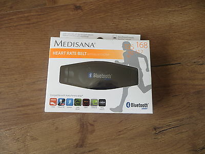 Medisana Wireless Heart Rate Belt Smart Fitness Bluetooth for Use with App