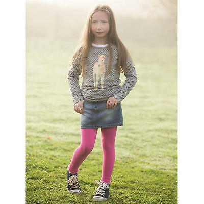 Girls Horseware Ireland Horse Riding Dotty T Shirt Top Age 9-10 Years DE35
