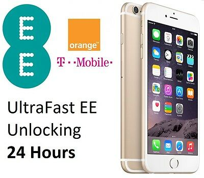 Ultrafast Express EE Unlocking for iPhone 4/4S/5/5S/6/6S/6+/6S+