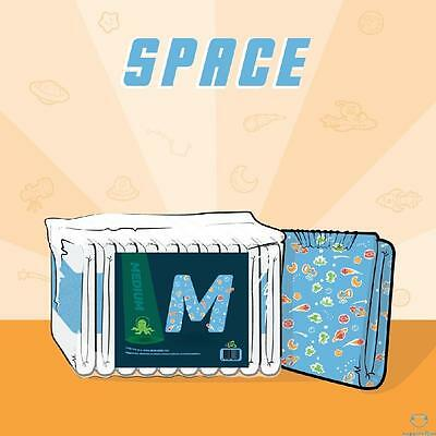 ABU Space Extra Large ABDL Adult Printed Nappies/Diapers