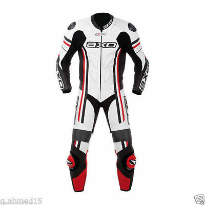 AXO Motorbike Leather Suit Motorcycle Racing CE  Custom Made Any Size/Colour