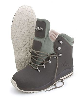 Vision Mako Fly Fishing Wading Boots - Gummi & Stud Sole UK 12 RRP £139.99