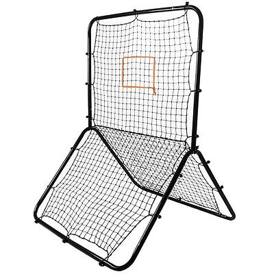 Crown Sporting Goods Multi-Sport Rebounder Pitch Back Screen with Adjustable
