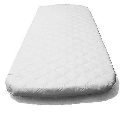 SUZY® Microfibre Hypoallergenic Crib Mattress Fit Next to Me Chicco Crib 83x50cm