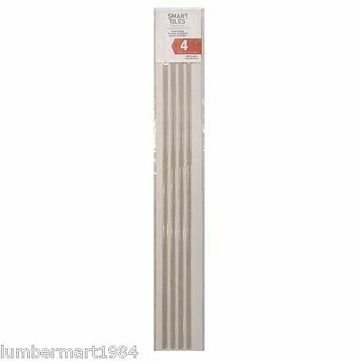 "Smart Tiles SE1076-4 BRILLO FINISHING EDGE PEEL N STICK 4 UNITS 0.27"" x 18"" DECO"