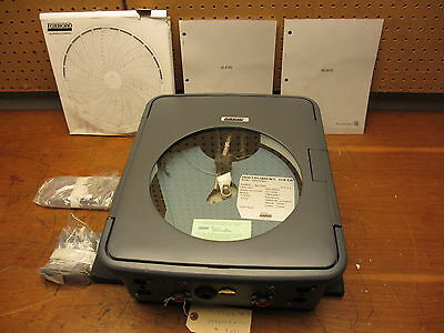 Invensys Foxboro NEW Pneumatic Circular Chart Recorder 40MR-RFM2F  COMPLETE