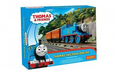R9283 Hornby Thomas & Friends Thomas The Tank Engine Electric Train Set OO Gauge