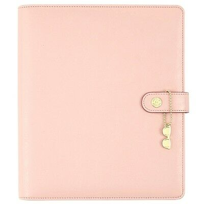 Simple Stories Carpe Diem A5 The Reset Girl Faux Leather Planner Ballerina 4941