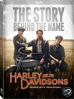 HARLEY AND THE DAVIDSONS - Complete Mini Series Collection 4 Disc Boxset NEW DVD