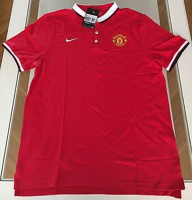 Manchester United football polo shirt