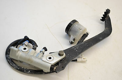 13 Can-Am Outlander 1000 XT 4x4 Rear Brake Master Cylinder & Pedal