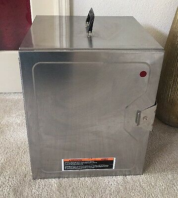 Food Hot Box Warmer Case Aluminum 16x16x24 Portable Holding Cabinet Delivery
