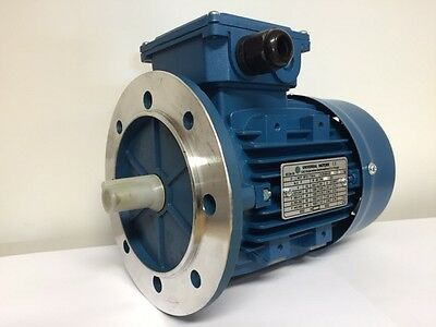 Electric Motor 0.55KW 1450RPM 4Pole Flange Mount B5 3 Phase