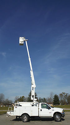 Sold Sold 2003 Ford F450 40' Bucket Boom Truck Utility Service Lift Aerial Sold