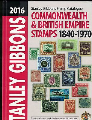 Stanley Gibbons Commonwealth Catalogue 2016 In Good Condition Post Free in UK