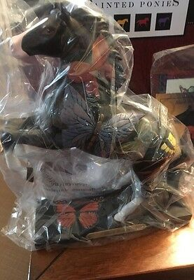 BLACK BEAUTY, Trail Of Painted Ponies, 1E 2568, NEW Resin Figurine, Box,Tag.