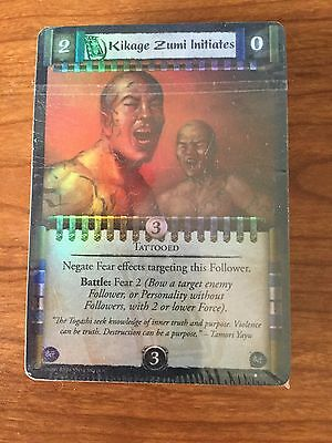 L5R Legend of the Fings Rings Ivory Edition Foil Common Half Set