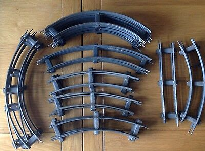 Job Lot-32 Pieces Of O Gauge Track-1920's Hornby-Bing Etc In Good Condition