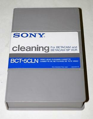 Sony BCT-5CLN Betamax Cleaning Tape NOS