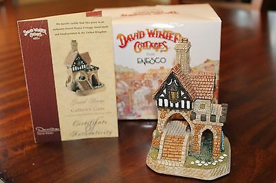 "David Winter Cottages ""Gallows Gate"" 1999 Box and COA"