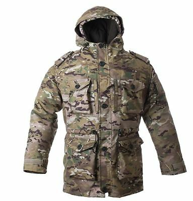 Military MDD MultiCam Double Jacket removable insulation NEW by ANA