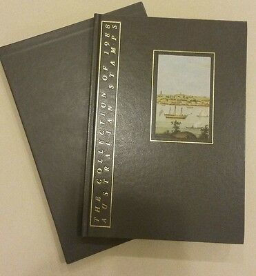 The Collection of 1988 Australian Stamps Album and Slipcase - No Stamps Included