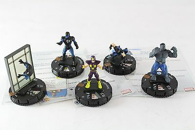 Heroclix Marvel Galactic Guardians 100 - 104 Iron Man Wolverine Spider-man OP