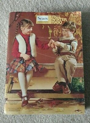 1980 Sears Fall/Winter Catalog Collectible!