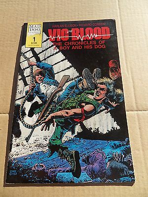 Vic and Blood 1 .Richard Corben . Mad Dog Graphics 1987 -  VF - minus